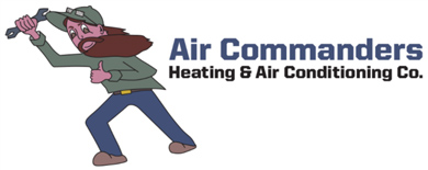 Air Commander's Heating & Air Conditioning Co. Logo